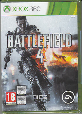 Battlefield 4 Xbox 360 Brand New Factory Sealed Fast Shipping-
