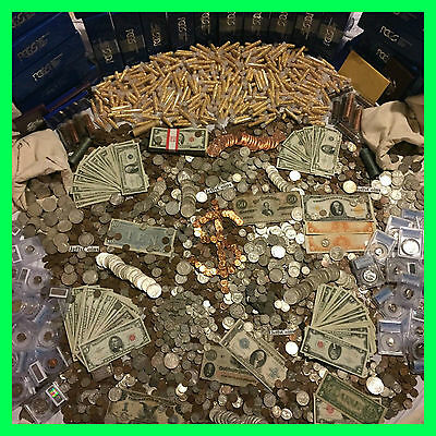 ✯ESTATE SALE OLD US COINS ✯ GOLD -999 SILVER BULLION✯GEMS✯PCGS MONEY HOARD LOT✯
