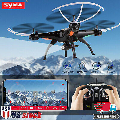 Syma X5SW-V3 2-4G RC Quadcopter Drone with HD Wifi FPV Camera Headless