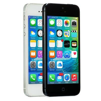 Apple iPhone 5 Smartphone AT-T Sprint T-Mobile Verizon or Unlocked 4G LTE iOS