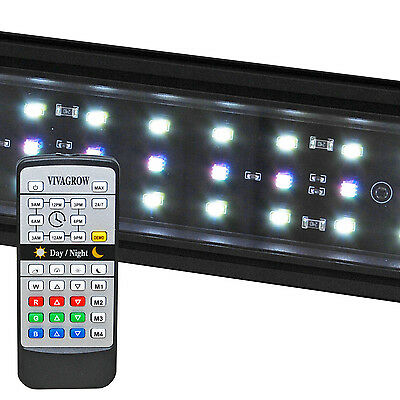 DayNight RGB LED Aquarium Light Freshwater Plant 247 Remote Automation VivaGrow