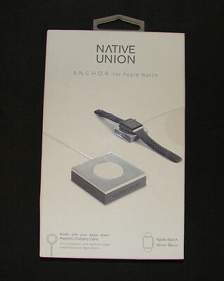 Native Union - ANCHOR Base for Apple Watch 38mm and 42mm - SilverGray