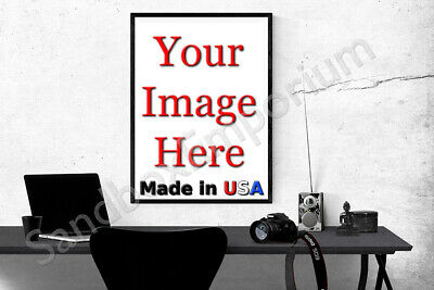 24x36 GLOSSY Custom Printed Your Photo Poster Image Enlargement