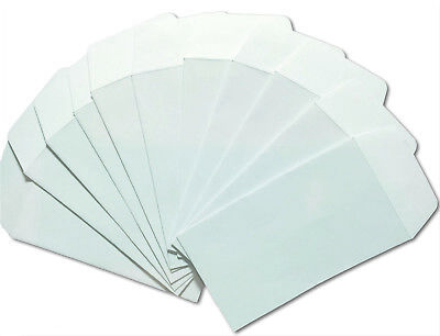 3 COIN ENVELOPES 4-25 x 2-5 White Gummed Seal Acid-Free4-14 x 2-12
