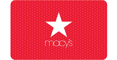25  50  100  250  500 Macys Physical Gift Card - FREE 1st Class Mail