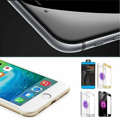 3D Curved Full Cover Tempered Glass Screen Protector for iPhone 7  8 Plus
