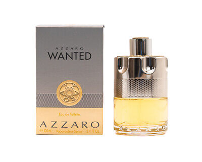 Azzaro Wanted by Azzaro 3-4 oz EDT Cologne for Men New In Box