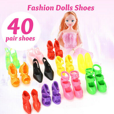 80X Fashion Doll High Heels Shoes Boots Sandals For Dolls Outfit Dress Gifts US