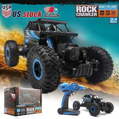 HB-P1801 2-4GHz 4WD 118 Scale 4x4 Rock Crawler Off-road Vehicle RC Car Truck