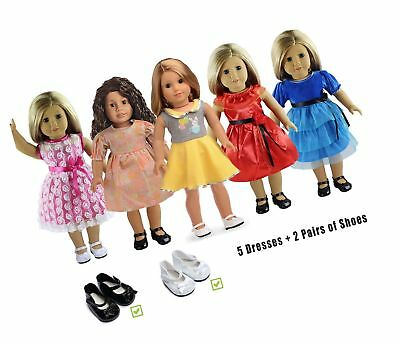 5PC Lots Doll Clothes for 18 Dolls American Girl Dolls