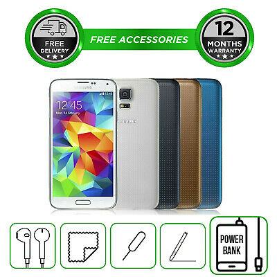 Samsung Galaxy S5 G900 16GB All Colours Unlocked to All Network Smartphone