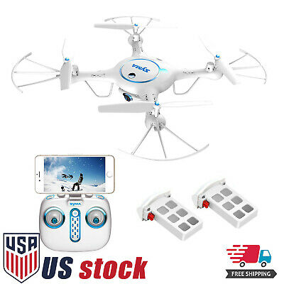 Syma X5UW Wifi FPV Drone with 720P HD Camera 2-4Ghz RC Quadcopter Extra Battery