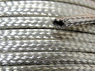 Tubular Braided Shield Tinned Copper Wire 14 Wide Ground Strap USA 15 FT