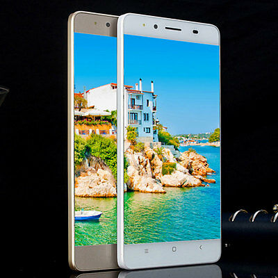 M5 5 Unlocked Dual SIM Android Smartphone Qcta Core 8GB Cell Phone US Plug