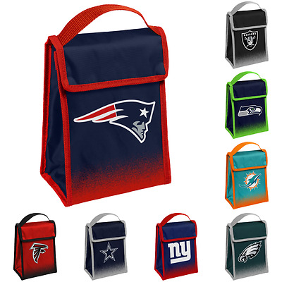 NFL Football Team Logo Gradient Hook - Loop Cooler Lunch Bag - Pick Team