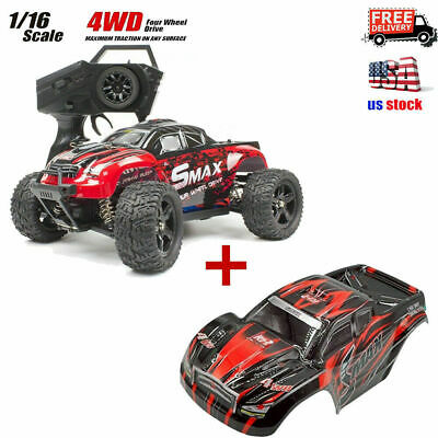 REMO 116 RC Truck Car 50KMh 2-4G 4WD Waterproof Brushed Short Course SUV 1621