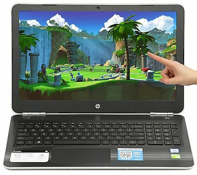 New HP 15-6 Touch NVIDIA 940MX i7-6500U 2-5GHz 12GB 1TB Win 10 Gaming Laptop