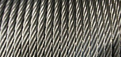 38 7x19 Stainless Steel Cable x 100 ft- Perfect for Ziplines