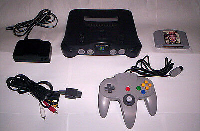 N64 007 Goldeneye Game - Great Nintendo 64 Console System Accessories Lot