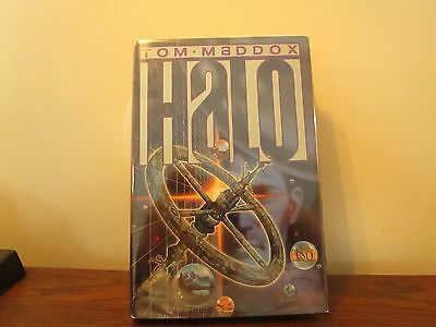 Halo by Tom Maddox 1st edition hardcover signed by the author