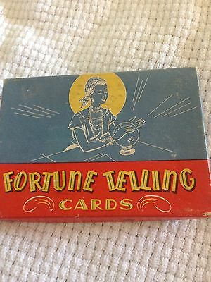 vintage fortunetelling card deck from play house