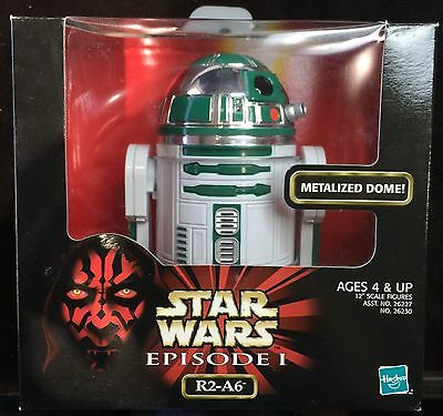 STAR WARSEPISODE 1 R2-A6With Metalized DomeHASBRO Action Collection SEALED