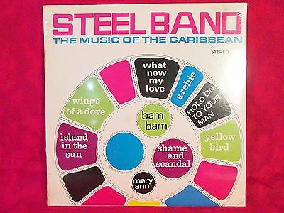 STEEL BAND Music of the CARIBBEAN Lp SEALED Record Drum Rare FREE SHIPPING