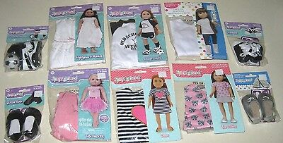 Springfield 18 Doll Clothes and Accessories - Lot of 10 - New 88