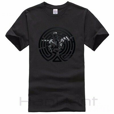Westworld T Shirt Maze with Dolores Background Men Short Sleeve Very Cool Shirt