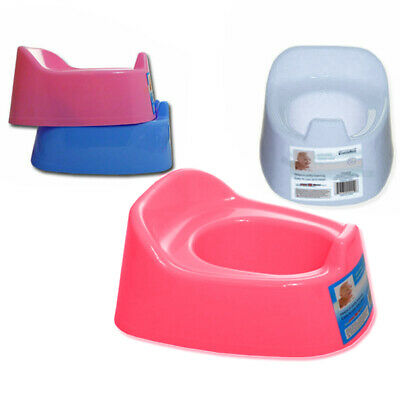 Potty Chair Training Seat Toddler Children Infant Baby Trainer WHITE or PINK