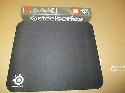 GENUINE OEM STEELSERIES QCK PRO GAMING MOUSE PAD 12 x 10 12-6 10-6 BLACK NIB