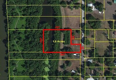 1-8 Acre FISHING Camping Home Buildable Lot in Meredosia IL River Hunting