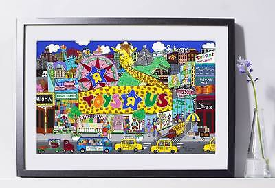 Toys R Us Store Art Reproduction 8x10  Pat Singers New York - Home Decor