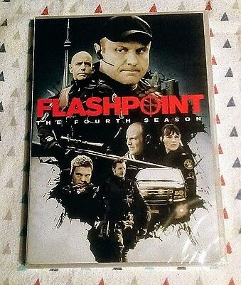 BRAND NEW FLASHPOINT THE FOURTH SEASON 4- DVD 2012 3-DISC SET- SHIPS FREE