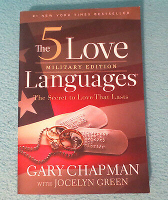 1 PB book The Five Love Languages Military Edition by Gary Chapman 2013