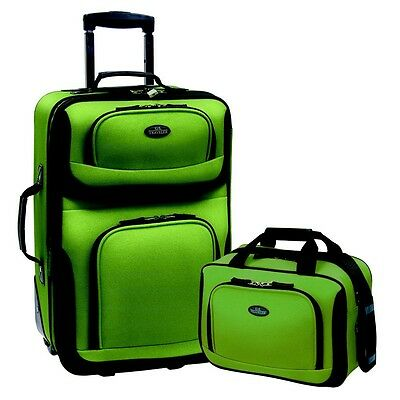 suitecase Set for women 2 Piece Carry-On travel tote bag wheels Lightweight