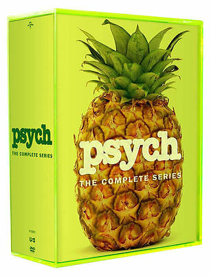 PSYCH THE COMPLETE SERIES SEASONS 1-8 DVD SEASON 1 2 3 4 5 6 7 8 NEW SET