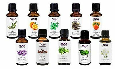 NOW Foods Essential Oils and Blend Oils - Assortment of Scents 1 Oz-