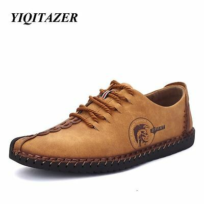 Mens YIQITAZER 2017 New Nubuck Leather Shoes- DELIVERY TIME 12 -20 DAYS