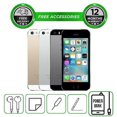 Apple iPhone 5S 16GB 32GB 64GB Smartphone Unlocked  All Colours