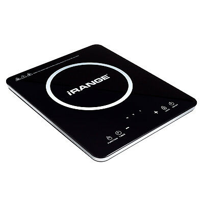 iRANGE A18 Ultra Slim Portable Induction Cooktop Burner with Overheat Protection