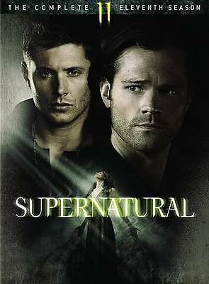 Supernatural The Complete Eleventh Season DVD 2016 6-Disc Set NEW FREE SHIP