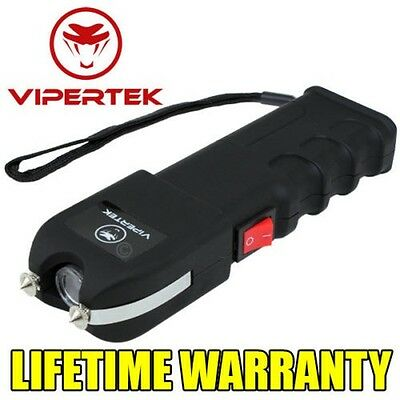 VIPERTEK Maximum Voltage Rechargeable  with LED Light - Holster