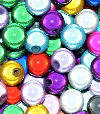 acrylic miracle beads  round assorted options for size 4 6 8 10 12 mm