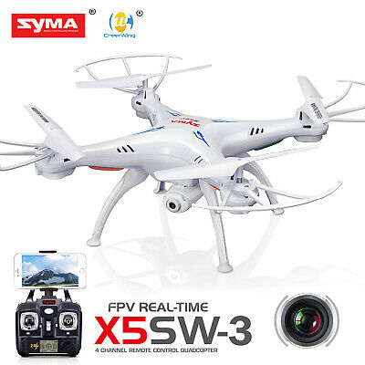 Syma X5SW-V3 Explorers 2-4G RC Headless Quadcopter Drone 2MP with HD Wifi Camera