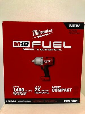 Milwaukee 2767-20 M18 FUEL 12 High Torque Impact Wrench with Friction Ring NIB