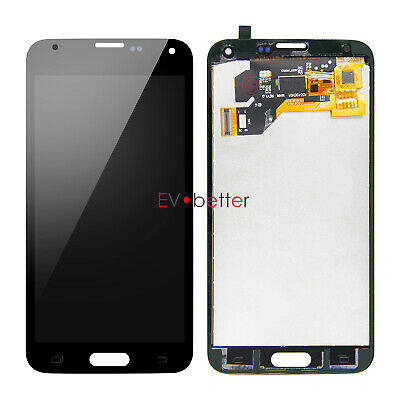 CA For Samsung Galaxy S5 SM-G900T G900V G900P G900A LCD Touch Screen Replacement