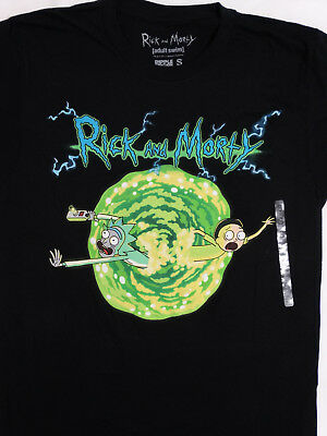 Rick and Morty Portal Adult Swim Cartoon T-Shirt