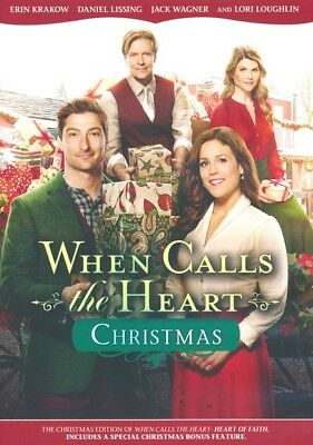 WHEN CALLS THE HEART CHRISTMAS - Special Edition with Bonus Features - Hallmark