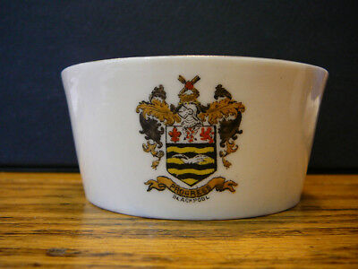 VINTAGE WH GOSS CRESTED CHINA BLACKPOOL LANCASHIRE BOWL CUP